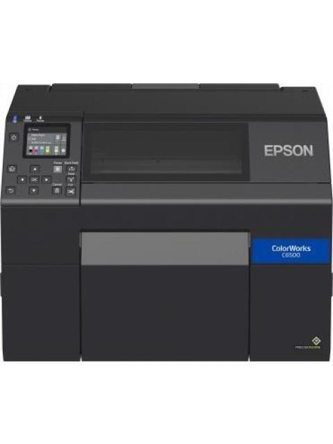 EPSON COLORWORKS CW-C6500 IMPRESORA DE ETIQUETAS INYECCION 1200 X 1200DPI USB 2.0 NEGRO - NO INCLUYE TINTA NEGRA REQUIERE C13T44B120 Y-O C13T44B520 SE VENDEN POR SEPARADO