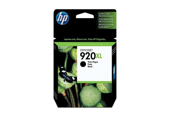 CARTUCHO DE TINTA HP OFFICEJET 920XL (CD975AL) - NEGRA