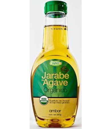 JARABE DE AGAVE STD LIGHT 330 G E-NATURE