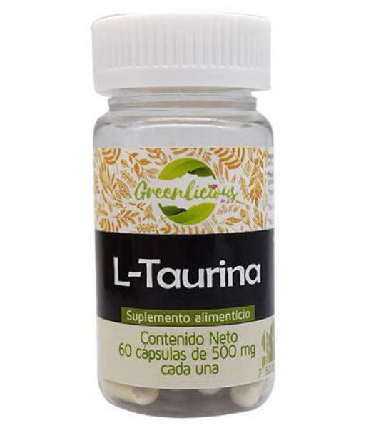 L TAURINA 60 CAP GREENLICIOUS MX