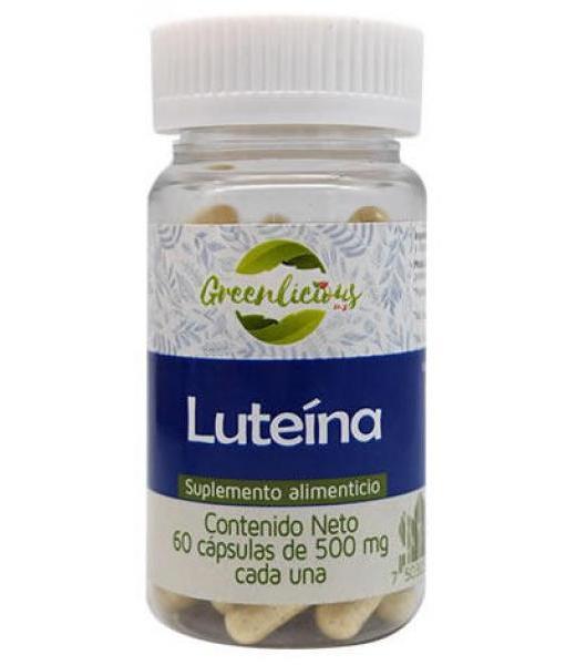LUTEINA 60 CAP GREENLICIOUS MX