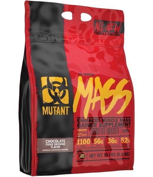 MUTANT MASS CHOCOLATE FUDGE BROWNIE 15 LB (26 SRVS) MUTANT