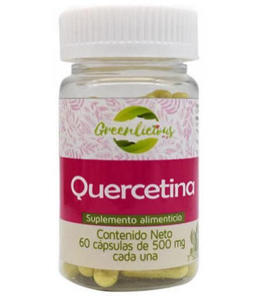 QUERCETINA 60 CAP GREENLICIOUS MX