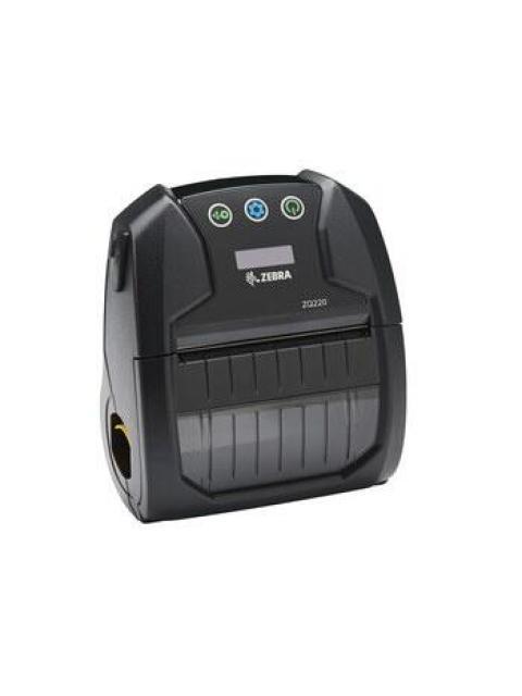 ZEBRA IMPREORA MOVIL ZQ220 TERMICA DIRECTA 203 X 203 DPI BLUETOOTH USB NEGRO